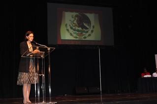Embajadora Bologna en clausura Feria del Libro, Panamá