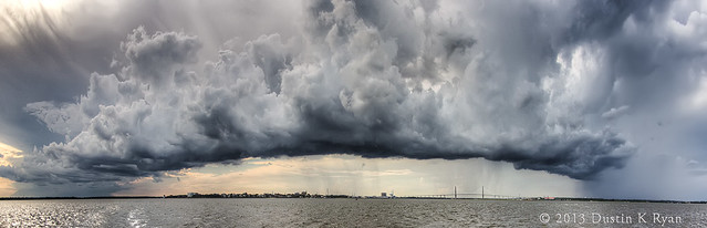 Storm Clouds Over Charleston South Carolina
