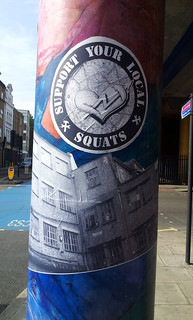 Support your local squats, Wapping