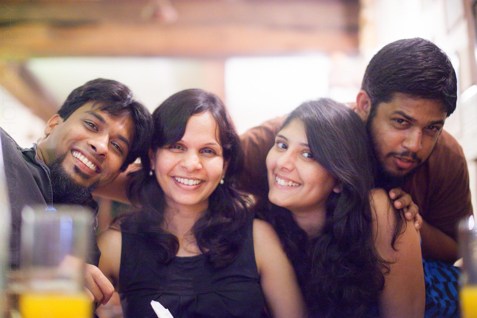 Daniel, Melanie, Priya & Lovell