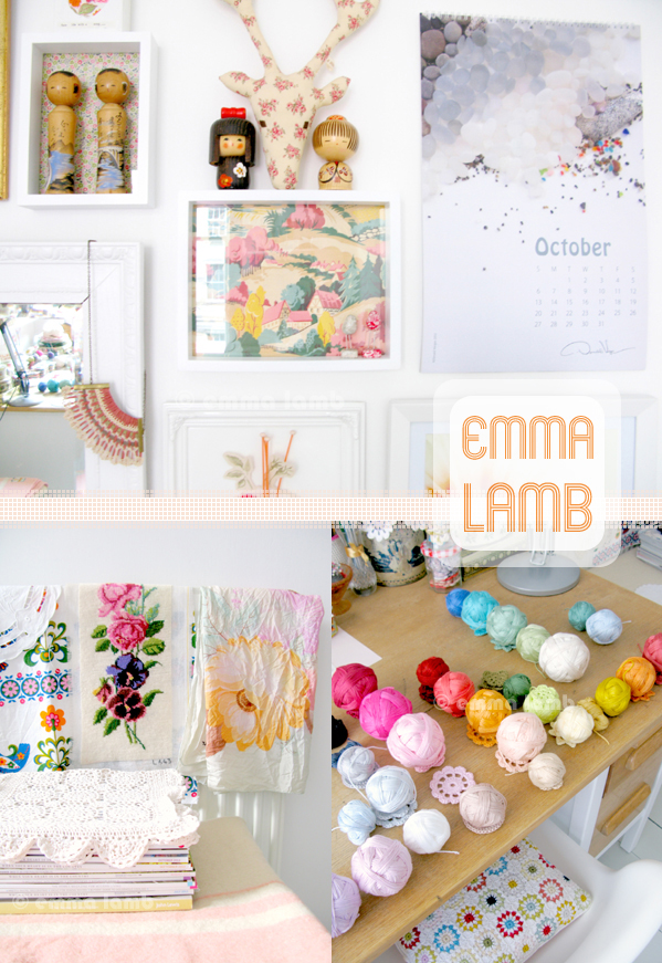 studio details : hello October! | Emma Lamb