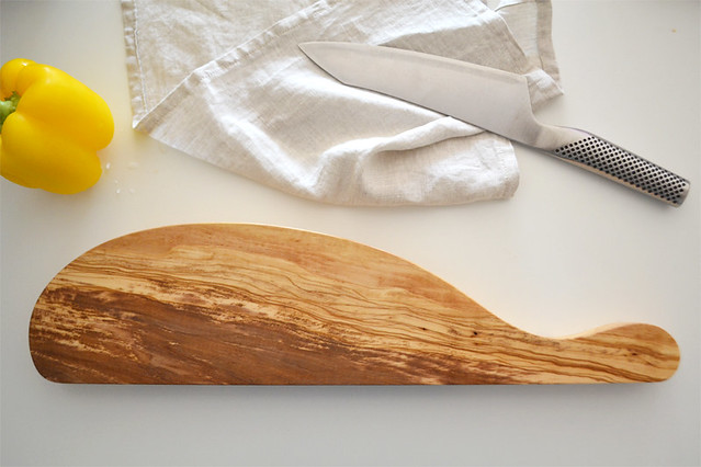 Handmade Olive Cutting Board