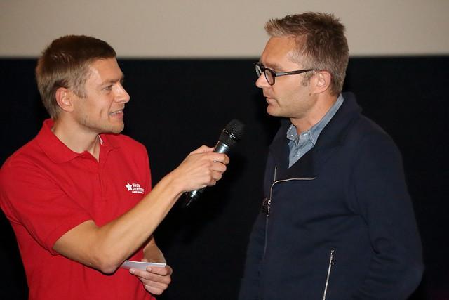 Persconferentie holebifilmfestival in Café Rocco