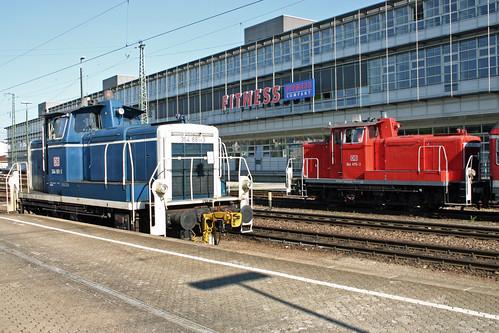 DB Baureihe 364 - Regensburg Hbf