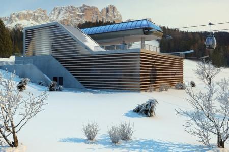 Tři nové hi-tech lanovky v jihotyrolských Dolomitech