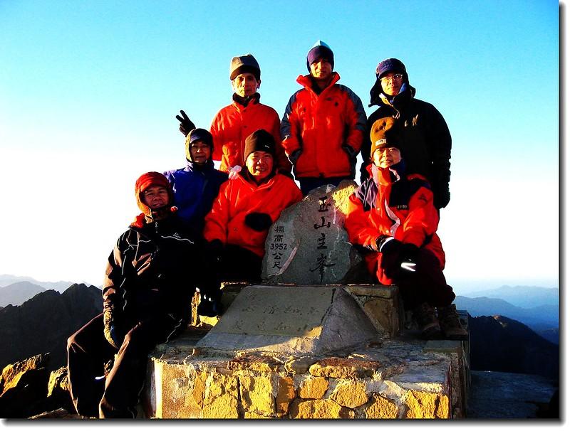 玉山主峰(elev. 3952 m) 2