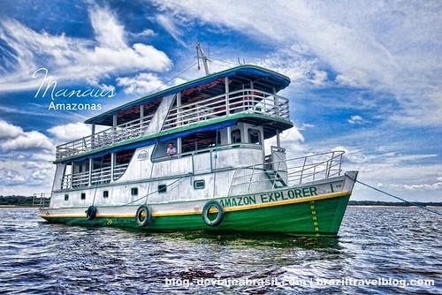 faltan 228 días para el mundial: navegando por el Amazonas