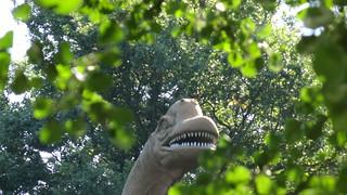 Die Kreatur lachte und grausame, kalte Laute jagten durch den Saurierpark Kleinwelka 0159