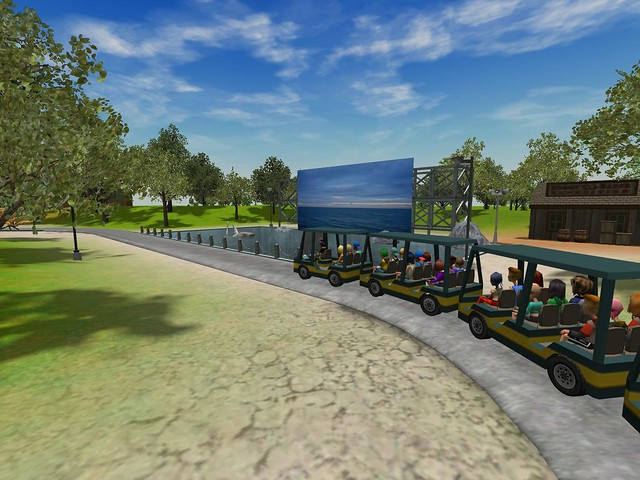 Miramar Studios Park - Backlot Tram Tour