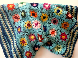 snood crochet granny