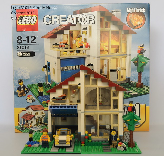 Lego creator 31012 family house flickr photo sharing for House creator
