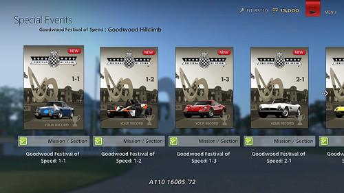 Gran Turismo 6 - Evénements Spéciaux