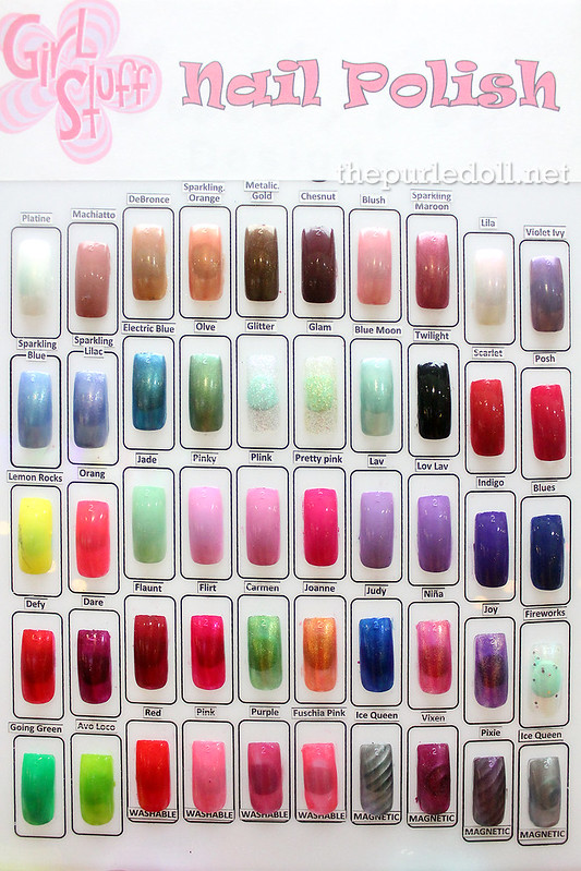 Girlstuff Nail Polish Swatches