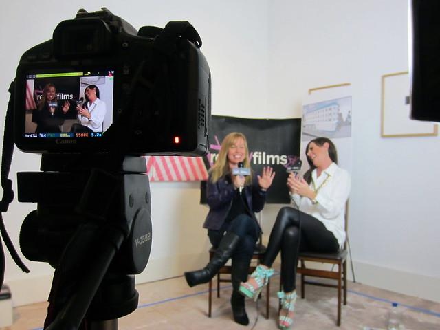 Kristyn Burtt, Heather Dubois, Social Lodge, During AFM, Cadillac Hotel, Venice Beach