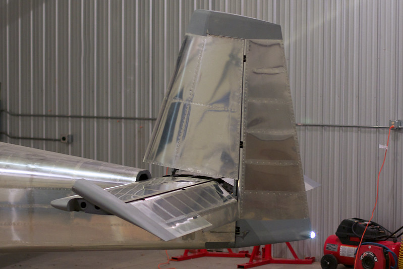 Rudder Attached
