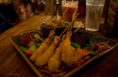 Shaoxing Steak and Shrimp @ The Yak & Yeti, Disney's Animal Kingdom