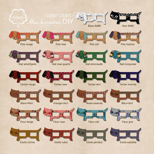 NuDoLu Mes lunettes DIY all colors AD