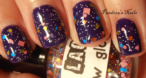 1 - lush lacquer snow globe over nails inc old bond street
