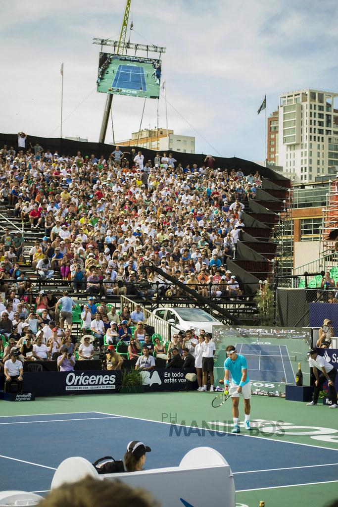 Nadal vs. Djokovic en Buenos Aires. [Fotos Propias]