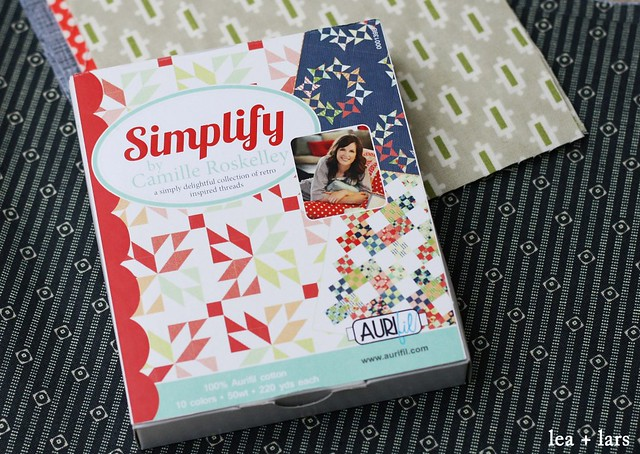 Aurifil thread - Simplify