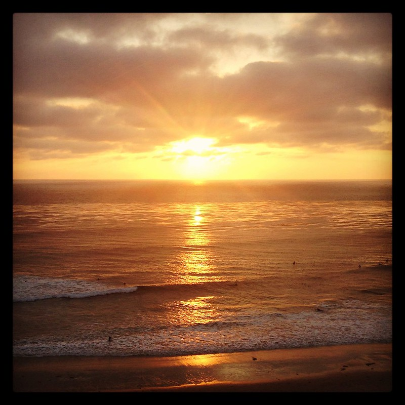 Sunset at Ritz-Carlton Laguna Niguel