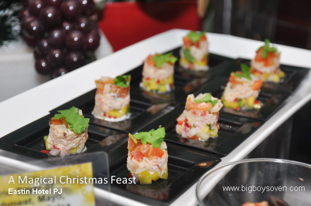 A Magical Christmas Feast Eastin Hotel 2