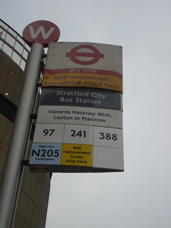 Stratford City Bus Station Bus Stop...