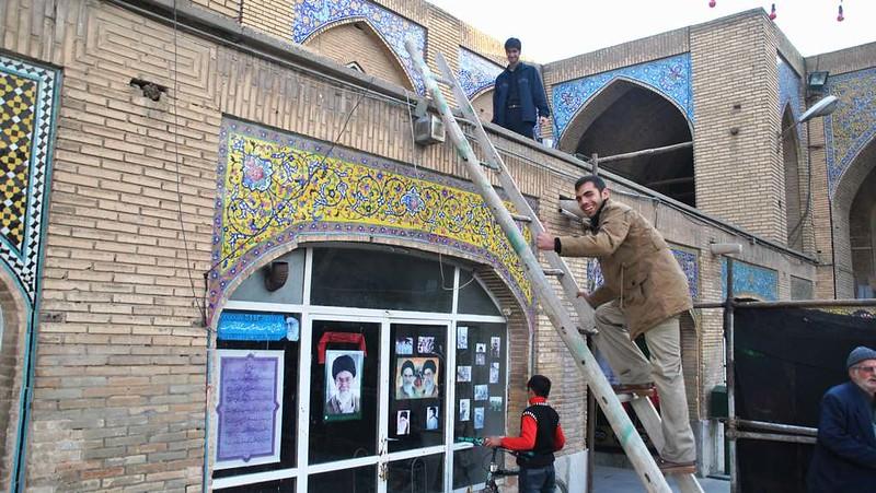 17 Visita a la mezquita de Rahim Khan en Isfahan (10)