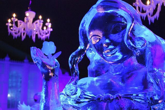 Disney ice sculptures from Flickr via Wylio