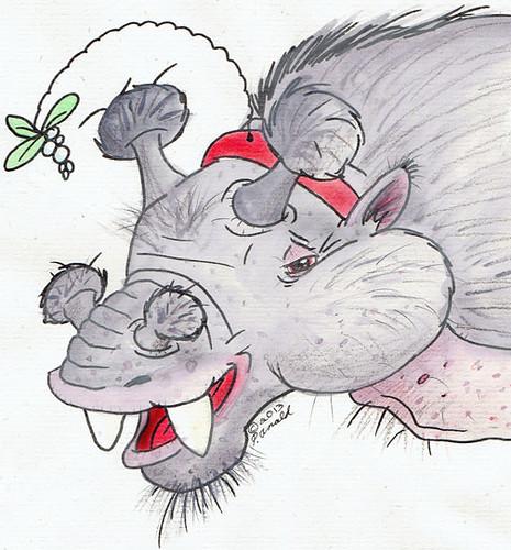 12.26.13 - The Hopeful Holiday Uintatherium