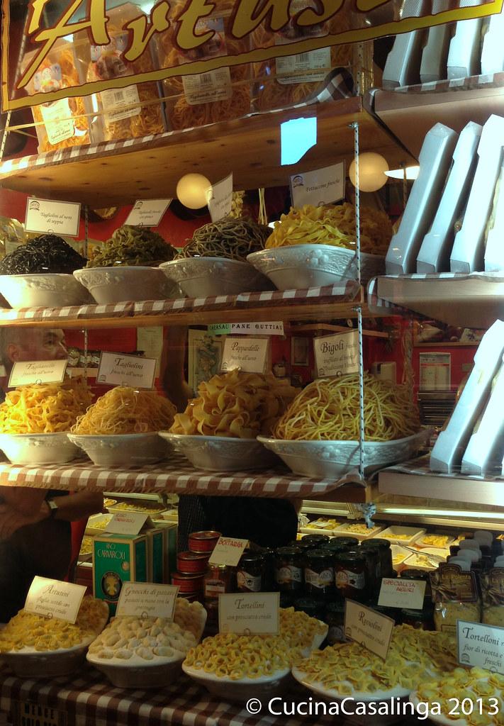 Padua Markthalle Pasta