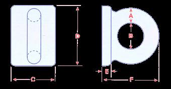 Rectangular Admiralty Deck Plates Image