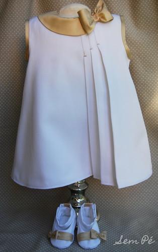 Vestido de Ba(p)tizado para uma princesa by Sem Pé