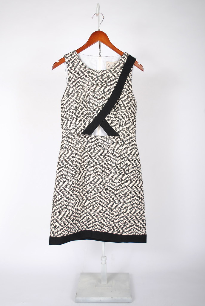 Combo Cut-Out Dress