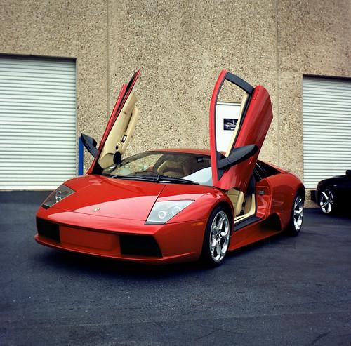 Lamborghini rentals St Moritz