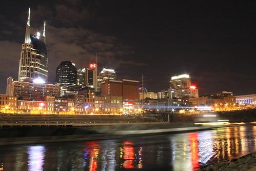 Nashville Skyline at Dusk 2014 #4