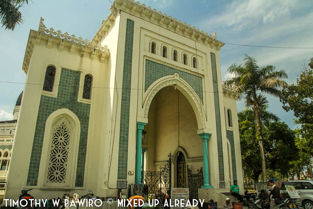 Asia - Indonesia - Medan - Grand mosque of Al-Mashun - The gate
