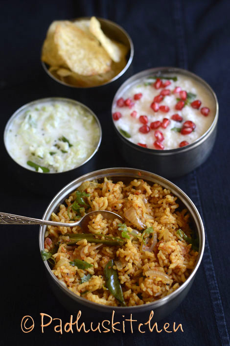 South Indian Variety Rice Lunch Menu Ideas Easy Variety Rice Lunch South Indi