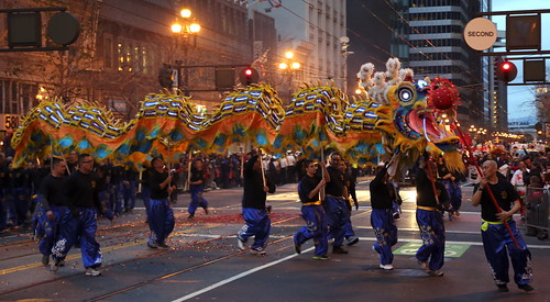 San Francisco Police Department Lion Dance Team