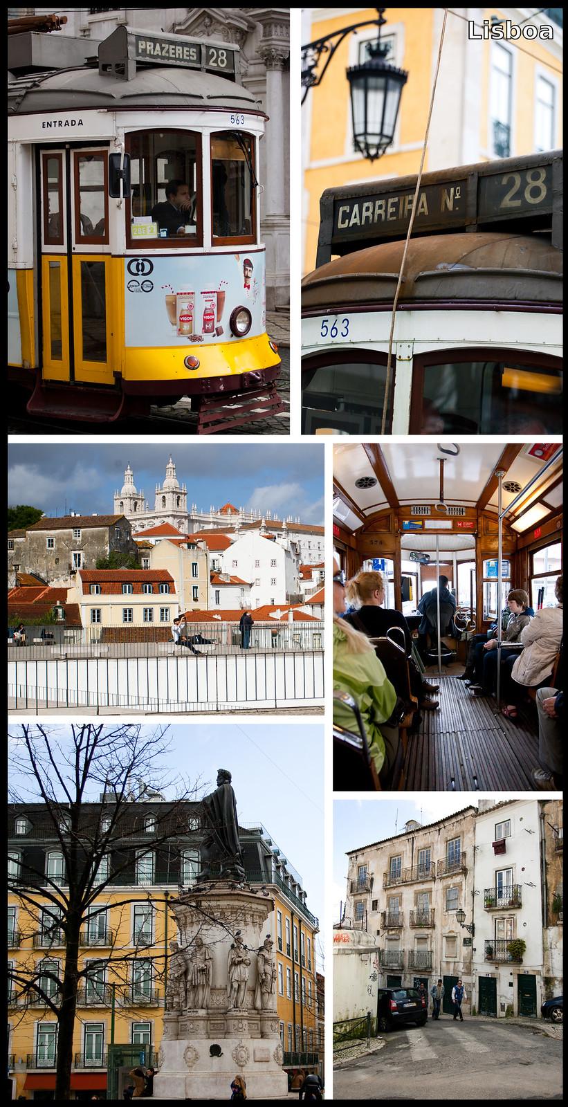 Eléctrico 28, o segredo menos secreto de Lisboa ~ Viagens para ...