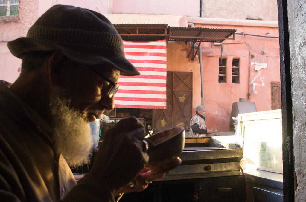 Marrakech - City trek - Le réconfort d'une soupe d'Illan