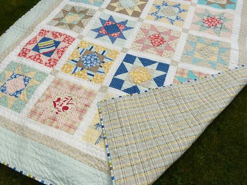 Seaside stars quilt2