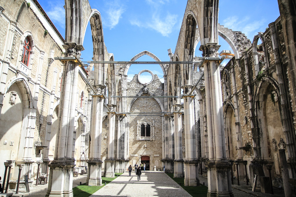 Lissabon / Igreja do Carmo