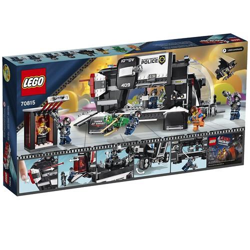 The LEGO Movie 70815 Back