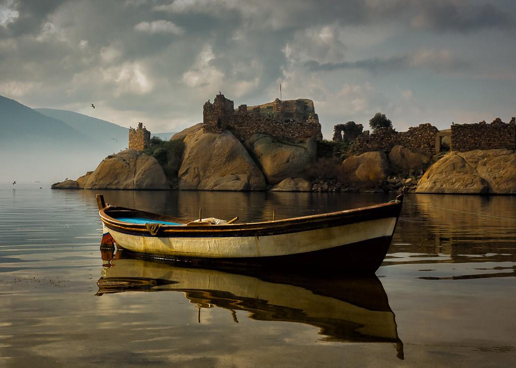 Fishing Boat on Bafa Golu