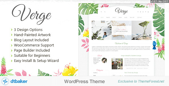 Verge WordPress Theme free download