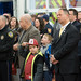 State Rep. and Wallingford Town Councilor Craig Fishbein joined more than a hundred Wallingford residents, local elected officials and firefighters from the surrounding community for the official opening of Wallingford's Station 7 Thursday night.  The brand new, state-of the-art facility is located at 864 North Farms Road and includes about 14,000 square feet of functional space while featuring shared and private spaces for the full-time and volunteer firefighters, a clean room to facilitate the laundering of fire gear and station laundry, bunk rooms for overnight crews, fitness room, stand-by generator in case of power loss and more.  The event featured brief remarks from Chief Richard Heidgard, Mayor Dickinson, Council Chair Cervoni and a blessing from the Rev. John J. Georgia, station tours and refreshments.