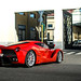 Red Laf with FXXK rims! by David Clemente Photography