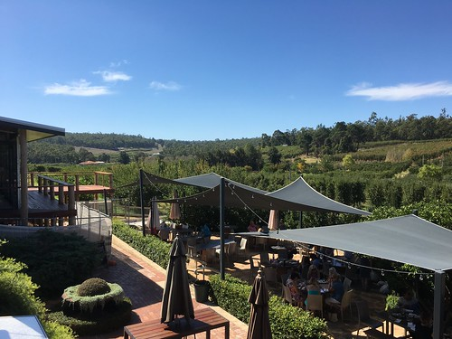Lunch at Core Cider, Pickering Brook WA