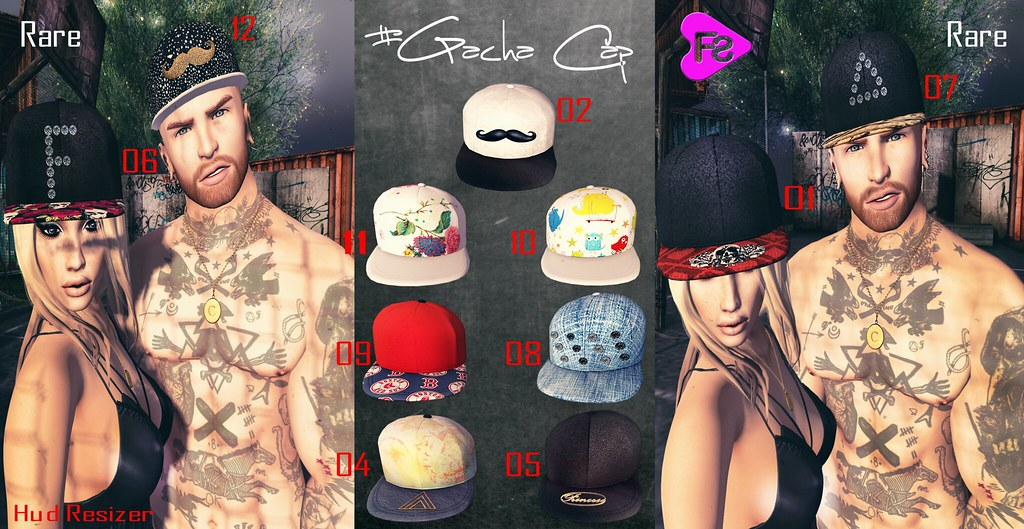 [Frimon Store] New #Gacha Cap - SecondLifeHub.com